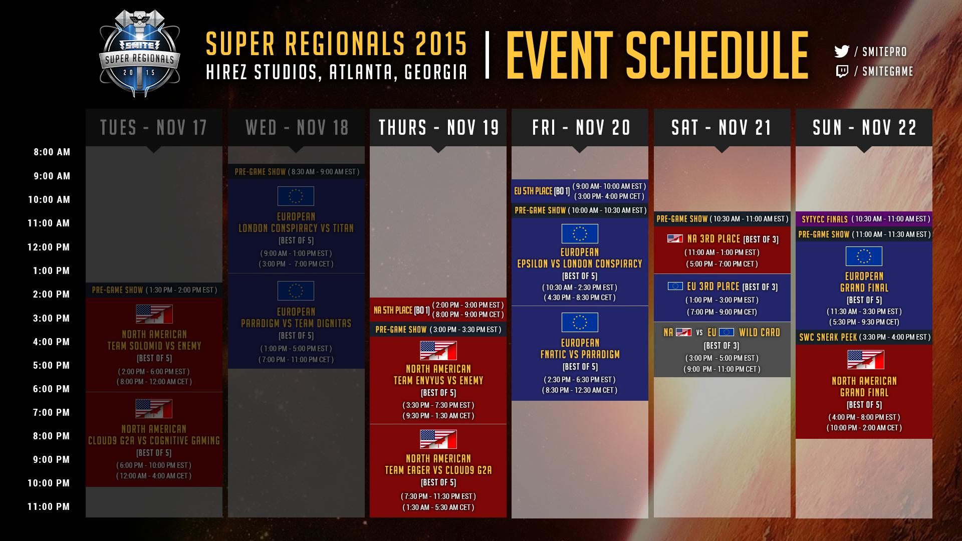 Smite] Support c9 in the Super Regional semifinals, tonight